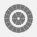 Abstract Drawing A Circular Pattern Flower Royalty Free Stock Photos - 62417018