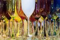 Background Of Colorful Glass Wine Glasses Stock Image - 62426391