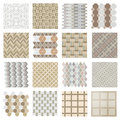 Architectural And Landscape Rocks And Bricks Patterns Set Stock Photos - 62447743