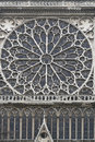 Rose Window Notre Dame Royalty Free Stock Photo - 62453375