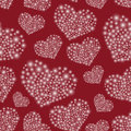 Hearts From Little Lights Red Seamless Pattern Royalty Free Stock Photography - 62453817