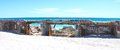 Concrete Breakwater With Tagging: Fremantle, Western Australia Royalty Free Stock Photography - 62491277