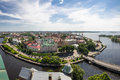 Old Buildings Of Vyborg Royalty Free Stock Image - 62497226