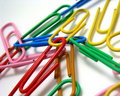 Colorful Paper Clips Stock Photos - 6253673