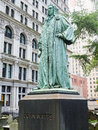 Monument At The Trinity Church Graveyard In Manhattan Stock Images - 62511054