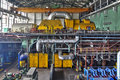 Machine Room In Thermal Power Plant With Generators And Turbines Royalty Free Stock Photography - 62553947