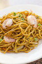Chinese Shrimp Lo Mein Stock Photography - 62558662