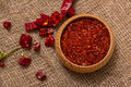 Hot Red Chilli Pepper Crushed Royalty Free Stock Photos - 62565738