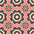 Oriental Colorful Ornament Seamless Pattern Vector Illustration Stock Photography - 62591642