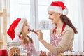 Cooking Christmas Biscuits Stock Images - 62593514