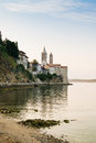 The Town Of Rab, Croatian Tourist Resort Famous For Its Bell Tow Royalty Free Stock Photo - 62596235