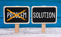 Problem And Solution Stock Photo - 62601880