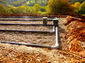 Sand And Gravel Filter Bed Royalty Free Stock Photo - 62604545