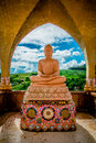 Buddha Statue With Marble Royalty Free Stock Photo - 62616505