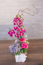 Bouquets Of Varios Flowers Stock Images - 62625274