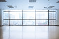 Empty Office Space With Large Window Stock Photos - 62627993
