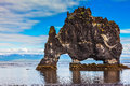 The Cliff In Iceland As Huge Prehistoric Monster Stock Photography - 62646762