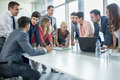 Successful Corporate People Having A Business Meeting Royalty Free Stock Photo - 62653335