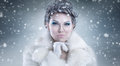 Snow Queen Royalty Free Stock Photo - 62653625