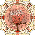 Vector Mosaic Of Flower Pink Rose. Stock Photo - 62673580