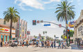 Hollywood Boulevard, Los Angeles Stock Image - 62674671