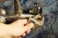 Plumber Tap Stock Images - 62680394