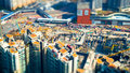 Aerial Cityscape View With Building Construction. Hong Kong. Til Royalty Free Stock Photo - 62680545