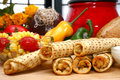 Chicken Taquitos Stock Photography - 6278692