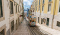 Lisbon S Gloria Funicular Classified In Bairro Alto Lisbon, Portugal Royalty Free Stock Photo - 62740185