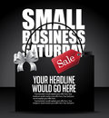 Small Business Saturday Shopping Bag Background Royalty Free Stock Photo - 62741155