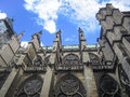 Historic Basilica Of Saint Denis In Fance Royalty Free Stock Photo - 62766435