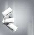Vector Chewing Gum Isolated On A Gray Background (imitation 3d) Royalty Free Stock Photos - 62778218