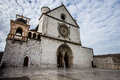 Basilica Of St. Francis Of Assisi With Lower Plaza In Assisi,  I Royalty Free Stock Image - 62779266