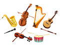 Musical Instruments Royalty Free Stock Photo - 62783955