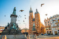 Old City Center View In Krakow Stock Photo - 62787020