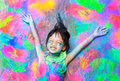Colorful Girl Stock Photo - 62824420