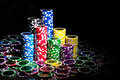 Poker Chips Stock Photography - 62852212