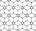Vector Modern Seamless Sacred Geometry Pattern Flower Of Life, Black And White Abstract Stock Images - 62876914