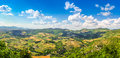 Beautiful View Of Rolling Hills, Vineyards And Meadows, Umbria, Italy Stock Photography - 62882682