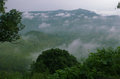 Clouds,mountain And Trees Stock Image - 62958251