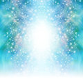 Starry Glittery Green Sparkling Background Stock Images - 62983374