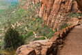 Trail To Angels Landing Stock Photo - 62986240