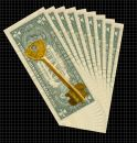 Key To A Prosperity Royalty Free Stock Images - 633289