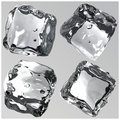 Ice Cubes 3d Render Royalty Free Stock Photography - 6304937