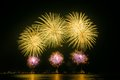 Colourful Fireworks Royalty Free Stock Image - 63014996