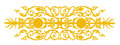 Ornament Elements, Vintage Gold Floral Designs Stock Photography - 63037262