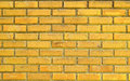 Yellow Brick Wall For Textures Background Stock Photo - 63048300