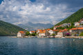 Landscape On Ferry Way In The Bay Of Kotor Royalty Free Stock Photography - 63067957