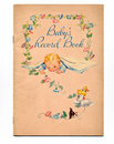 Vintage Baby Book Stock Images - 6312434