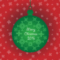 Green Christmas Ornament Ball Decorations With Snowflakes . Vector In Addition Royalty Free Stock Photo - 63117925